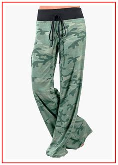 Summer Autumn Printed Wide Leg Pants Female Loose Pants Women Casual Camouflage Pants Sexy Plus Size Army Long Trousers Baggy Pants, Loose Pants, Wide Leg Pants, Yoga Pants, Loose Fit, Casual Pants, Comfy Pants, Harem Pants, Wide Legs