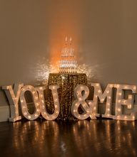 diy wedding centerpieces with led lights | DIY Wedding Ideas