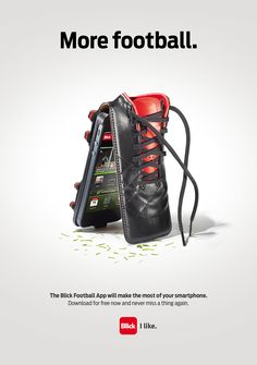 The Blick Football App will make the most of your smartphone