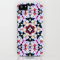 Kaleidoscope Flowers  iPhone & iPod Case by Art, Love And Joy - $35.00