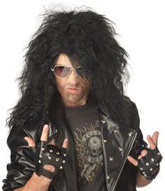 California Costumes Men`s Heavy Metal Rocker Wig $12.24