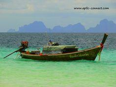 Long-Tail Boats near Koh Lanta   Flickr - Photo Sharing!
