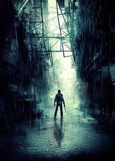 "Silent Hill Downpour (Water) - Murphy Pendleton - Murphy means ""sea-warrior""."