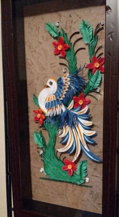 Mexican Art - created by djay - Tranquillity Quilling Paper Quilling Designs, Quilling Cards, Mexican Art, Paper Crafts, Create, Pictures, Crafting, Painting, Cold