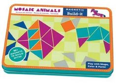 Kreatives magnetisches Puzzle 'Mosaik-Tiere'