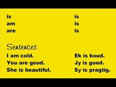 Learn to Speak Afrikaans in 5 minutes! Languages Of South Africa, Afrikaans Language, South Afrika, Learn Another Language, Common Phrases, Funny Quotes, Quotes Quotes, Foreign Language, Travel Quotes