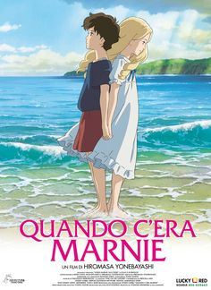 "ca-tsuka: ""French poster and news stills for Studio Ghibli ""Souvenirs de Marnie"" (When Marnie Was There) movie. Art Studio Ghibli, Studio Ghibli Films, Studio Ghibli Poster, Anime Ai, Anime Manga, Hayao Miyazaki, Erinnerungen An Marnie, Grand Film, Personajes Studio Ghibli"