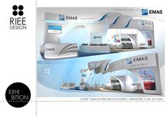 EXHIBITION BOOTH_design3 by Erlina Chang, via Behance