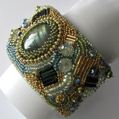 beaded cuff bracelets - Google Search