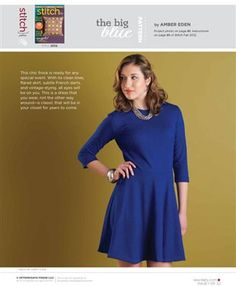 Fit And Flare Dress: Free Sewing Pattern - Sew Daily
