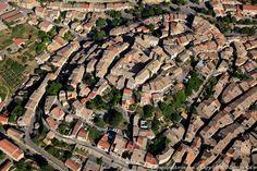 ✈️ Photo aérienne de : Valensole - Alpes-de-Haute-Provence (04) Haute Provence, Provence France, Valensole, Aerial Photography, Aerial View, City Photo, Cities, Castle, Europe