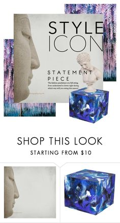 """Style Statement"" by ispdesign ❤ liked on Polyvore featuring interior, interiors, interior design, home, home decor, interior decorating, Dilmos and Howard Elliott"