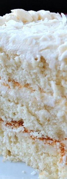 Creamy White Cake with Buttercream Frosting - Great Grub, Delicious Treats