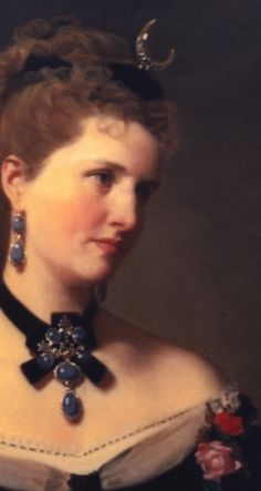 1875 (?) Matilde de Aguilera y Gamboa, Lady of Fontagud by Federico de Madrazo y Kuntz
