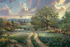 Thomas Kinkade - Country Living