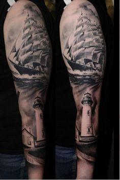 Realistic Trash Polka!  Tattoo