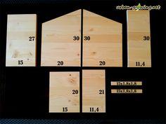 Einzelteile für einen Nistkasten - www.urban-growing.net
