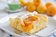 A apricot cake is not only popular in Austria. The Austrian apricot cake also tastes good to Germans. A apricot cake is not only popular in Austria. The Austrian apricot cake also tastes good to Germans. Almond Recipes, Pie Recipes, Dessert Recipes, Cooking Recipes, Easy Recipes, Apricot Slice, Apricot Cake, Food Cakes, Cupcake Cakes