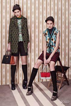 Photo feat. Dasha Maletina - Miu Miu - Pre-Fall 2015 Ready-to-Wear - Lookbook   Brands   The FMD #lovefmd