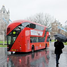 The new London Bus that we ride and love. Heatherwick Studios. This fleet is the largest order of hybrid buses ever placed in Europe and will be delivered in its entirety by 2016.