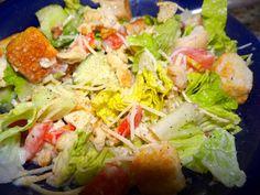 Paradise Bakery Copycat Chicken Walnut Salad