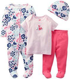 Mamas and Papas Pink Check Ensemble de Pyjama B/éb/é Fille