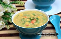 Sweet Corn Vegetable Soup Recipe