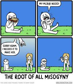 The Original Sin:http://www.mrlovenstein.com/comic/716