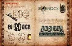 Some ideas for the logo of Bioshock. Bioshock Artwork, Some Ideas, Book Art, Inspiration, Logo, Biblical Inspiration, Logos, Inspirational, Inhalation
