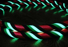 Hula Hoop NEW Glow In The DARK Travel Hoop by HoopMamas on Etsy, $31.95 (IWANTITIWANTITIWANTIT)
