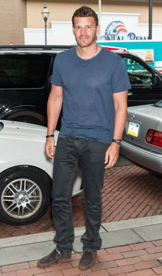 David Boreanaz, June 19, Good Day, Philadelphia, Bones, Seal, Fox, Celebrity, Actors