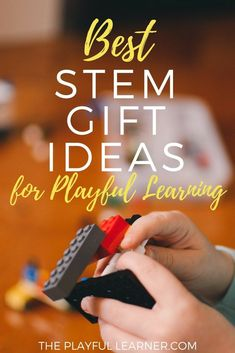 STEM (Science, Technology, Engineering, Mathematics) skills are becoming more and more important for our children. Luckily, it can be a ton of fun to learn! Here are a ton of STEM gift ideas for your children. Play Based Learning, Learning Activities, Kids Learning, Activities For Kids, Stem Activities, Early Learning, Stem Science, Easy Science, Science Experiments