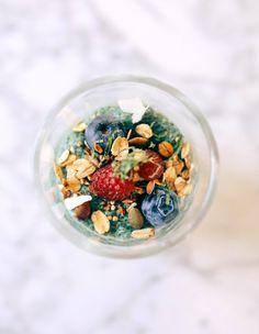 Post image for Chia Spirulina Breakfast Pudding