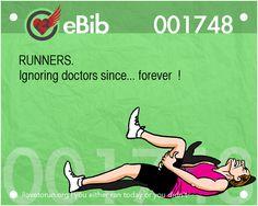 Thou Shalt Not Run | Running with an Injury | Mommy Runs It  #running #fitfluential