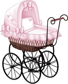 Baby Carriage Clip Art Images In Various Colours The Babys, Clipart Baby, Baby Images, Baby Pictures, Dibujos Baby Shower, Scrapbook Bebe, Baby Buggy, Baby Memories, Baby Carriage
