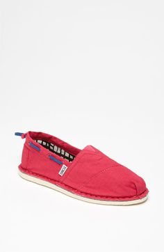TOMS 'Bimini' Slip-On--fun for summer, although I think my dogs would stink like a man's if I wore these in the heat!