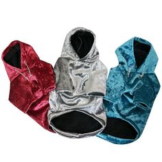 Frenchie World® Hooded shiny jackets Keep your pet warm, comfy, and cute in the in the  Frenchie World® Hooded shiny jacket hoodiee in those shiny colors! Shiny color with matching hoodie Mix and match with the whole Frenchie World® line Ultra soft 100% velour Fashion chain detail Why We Love It: Your search for the perfect pet hoodie is over! The Frenchie World® Hooded shiny jacket is sure to be your dog or cat's favorite wardrobe item to keep them looking good and staying toasty. We&#...