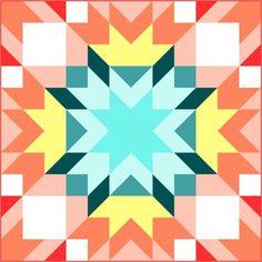 AQS Summer Star Quilt – instructions