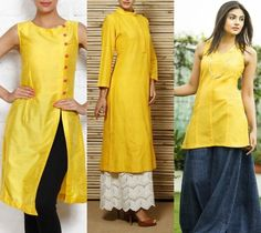 Yellow Kurtas