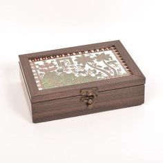 Hand Painted Box, Warli Village Design - FOLKBRIDGE.COM   Buy Gifts. Indian Handicrafts. Home Decorations.