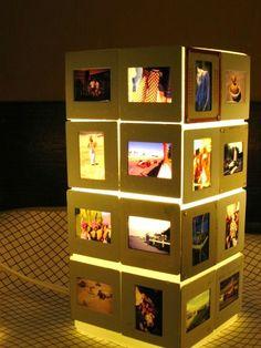 Reminisce Vintage 35mm Slide Table Lamp