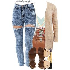 08.09.14, created by fashionkillas on Polyvore