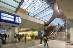 Rotterdam Centraal: van kas naar 'zinksnijer' - architectenweb.nl