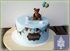 Birthday Cake Ideas For Kids Boys Fondant 32 Best Ideas Boys First Birthday Cake, Baby Birthday Cakes, Cake Decorating With Fondant, Cake Decorating Courses, Fondant Cakes, Cupcake Cakes, Kaiserslautern, Teddy Bear Cakes, Baby Reveal Cakes
