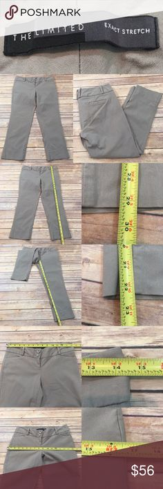💓Express 2 Gray Exact Stretch Cropped Capri Pants Measurements are in photos. Normal wash wear, no flaws. B1/38  I do not comment to my buyers after purchases, due to their privacy. If you would like any reassurance after your purchase that I did receive your order, please feel free to comment on the listing and I will promptly respond.   I ship everyday and I always package safely. Thank you for shopping my closet! Express Pants Capris