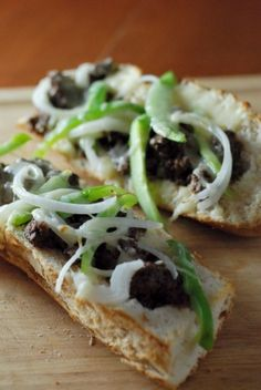 Philly Cheese Steak French Bread Pizza