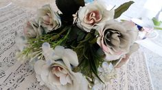 Buquet de rosas artificiais