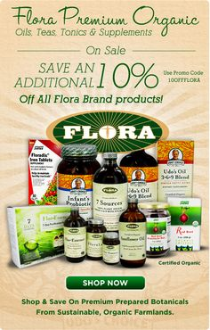 Save an extra 10% off your favorite Flora products today! Enter promo code '10OFFFLORA' at checkout.