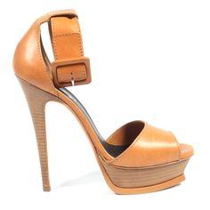 Yves Saint Laurent Womens Ankle Strap Sandal