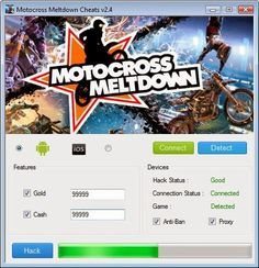 Motocross Meltdown Hack tool